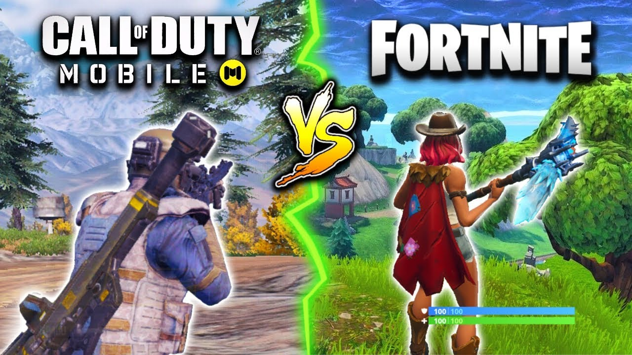 Call Of Duty Mobile Vs Fortnite Mobile Which One Is Better