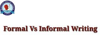 Formal vs informal writing || Rescuers Tutors || Urdu