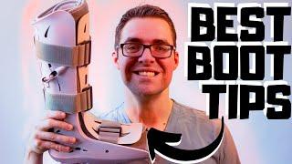 Aircast Walking Boot: BEST TIPS 2021 [Broken Foot or Broken Ankle]