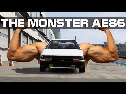 Assetto Corsa - The Monster AE86