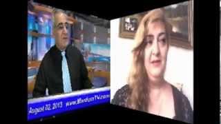 Ex-Mojahedin * Zahra Moini * 02 August 2013 * AAWA-Association.de * MardomTV.com