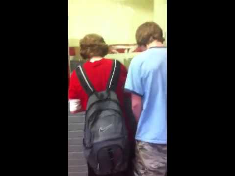 Rap freestyle at Cocke county high