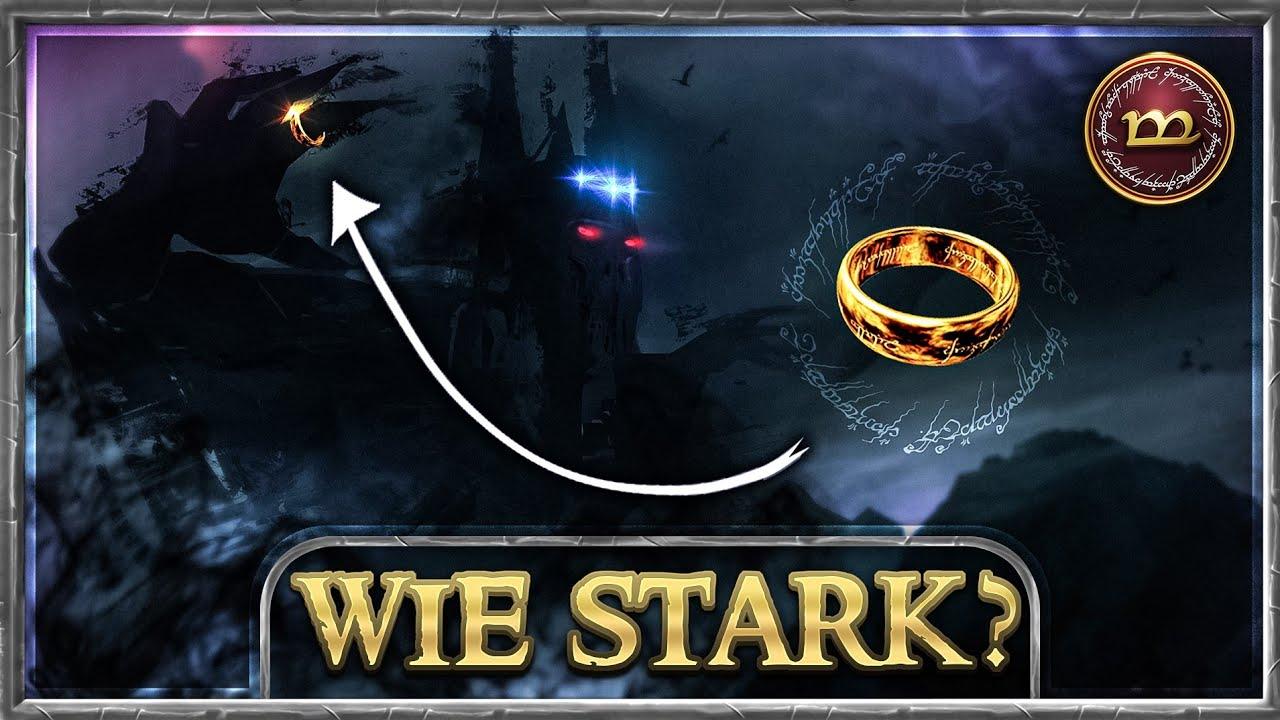 Was wäre, wenn Melkor den Einen Ring tragen würde?