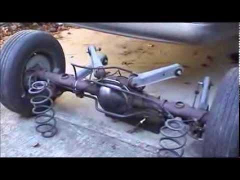 1995    Ford       Crown       Victoria    Rear Axle Swap  YouTube
