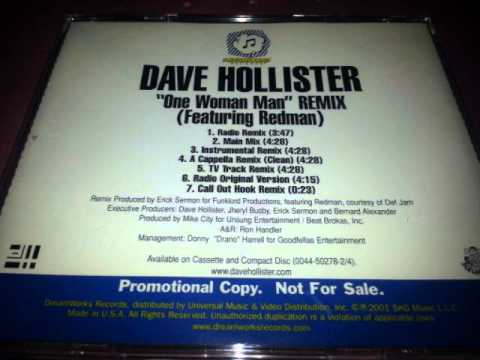 Dave Hollister Feat Redman  One Woman Man Eric Sermon Main Mix