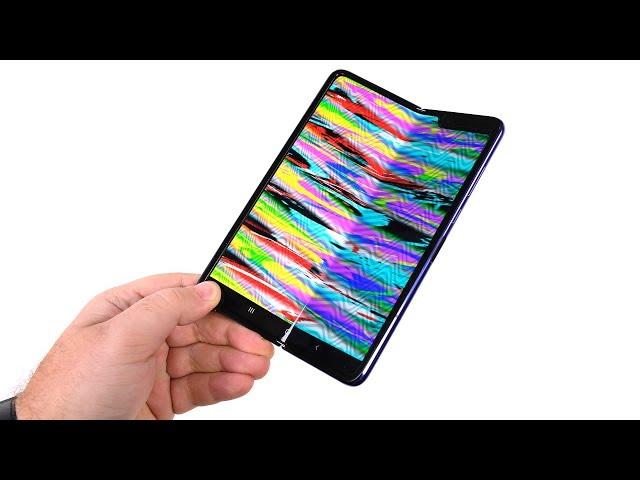 Galaxy Fold - 48 часов спустя. А что с гибким экраном?