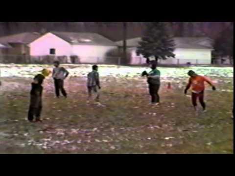 Pickup Football Game Brook Park, Ohio 1986?