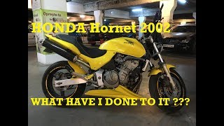 Honda Hornet 2002 Custom modified