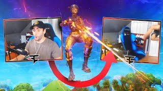 He Kicked His Chair After this Shot - Fortnite Battle Royale
