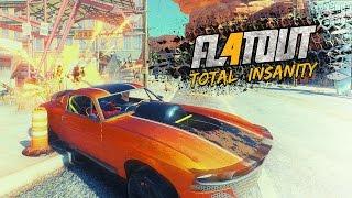 FlatOut 4: Total Insanity — ТОТАЛЬНОЕ РАЗРУШЕНИЕ!