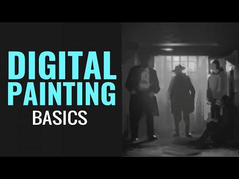 DIGITAL PAINTING: Understanding values
