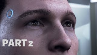 Detroit Become Human Movie Part 2 | Continuous Gameplay Walkthrough (No Commentary)