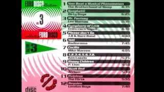 CD COMPLETO MIXADO EURODISCO COLLECTION VOL - 3