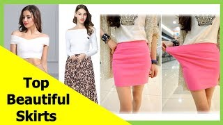 Top 50 beautiful skirts, pencil skirts and best skirts for ladies S4