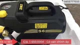 Hướng dẫn sử dụng máy rửa xe ZNC S6 phiên bản có van chỉnh áp
