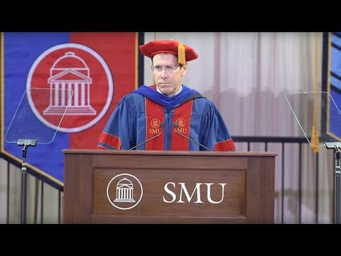 SMU Commencement May 2018 Keynote by Randall Stephenson