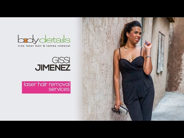 Does Laser Hair Removal for Dark Skin Work? | Gissi Jimenez | Body Details