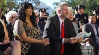 Assemblymember Holden Makes Fallen Pasadena Police Memorial Signs Possible