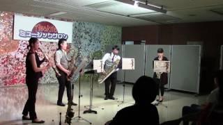 広島で演奏活動しているサックス4人組です。 公式ブログ→http://ameblo...