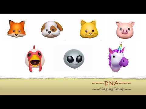 [Animoji Karaoke] Emoji Singing DNA -- BTS '방탄소년단'