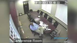 Black Police Association of Greater Dallas president caught on camera