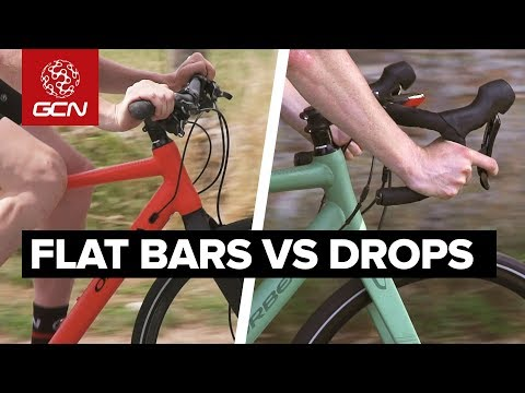 Flat Bar Vs Drop Bar Road Bikes | Comfort, Speed & Ease