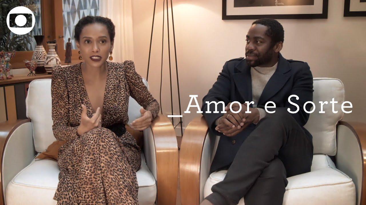 Amor e Sorte: atores apresentam as histórias da série