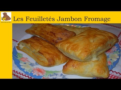 les-feuilletés-jambon-fromage-(recette-rapide-et-facile)