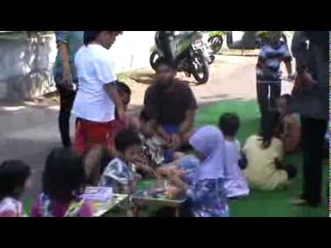 warga nangka Rt004 Rw01 cengkareng barat lomba MEWARNAI 17 Agustus 2013