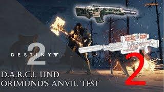 DESTINY 2 D.A.R.C.I. und ORIMUND'S ANVIL Test #2 - Eisenbanner | Deutsch | PC