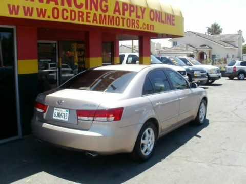2006 Hyundai Sonata  Sdn GLS V6 Auto (Garden Grove, California)