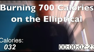 Burning Calories on the Elliptical
