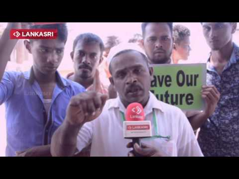Muthur Coal Protest