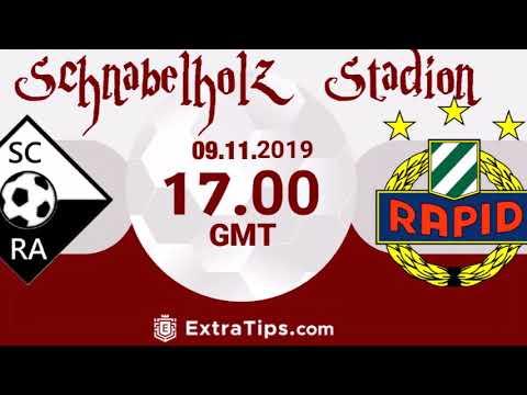 SCR Altach vs  SK Rapid Wien 14  Spieltag am 09.11.2019 um 17 Uhr im Schnabelholz Stadion !