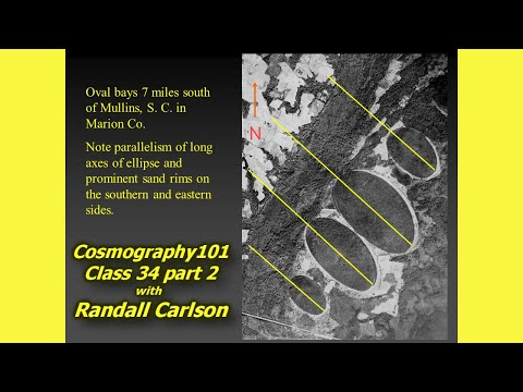 Carolina Bays Review / Trail of Research / Ice Projectiles? Cosmography101-34.2 with Randall Carlson from YouTube · Duration:  44 minutes 28 seconds
