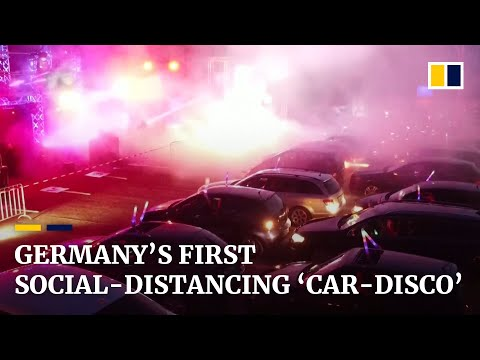 germany's-first-drive-in-social-distancing-rave-amid-coronavirus-pandemic