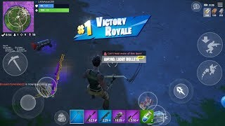 Fast Fortnite Mobile Builder / 230+ Wins / Fortnite Mobile Tips And Tricks / 50$ GiveAway At 275 Sub
