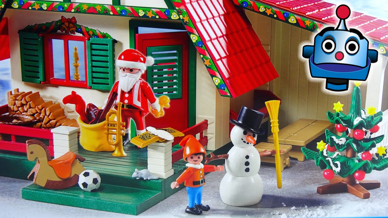 Playmobil Christmas La Casa De Pap Noel 5976 Santa S Home