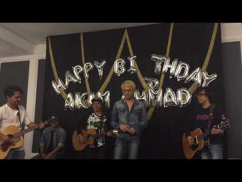 #Bunga ~ Akim & The Majistret at Akim Ahmad 27th Surprise Birthday Bash