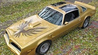 Gold 1978 Pontiac Trans-Am Firebird for Sale
