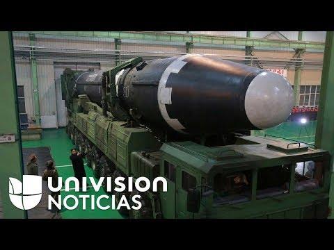 Así lanzó Corea del Norte su misil más potente que podría alcanzar Estados Unidos