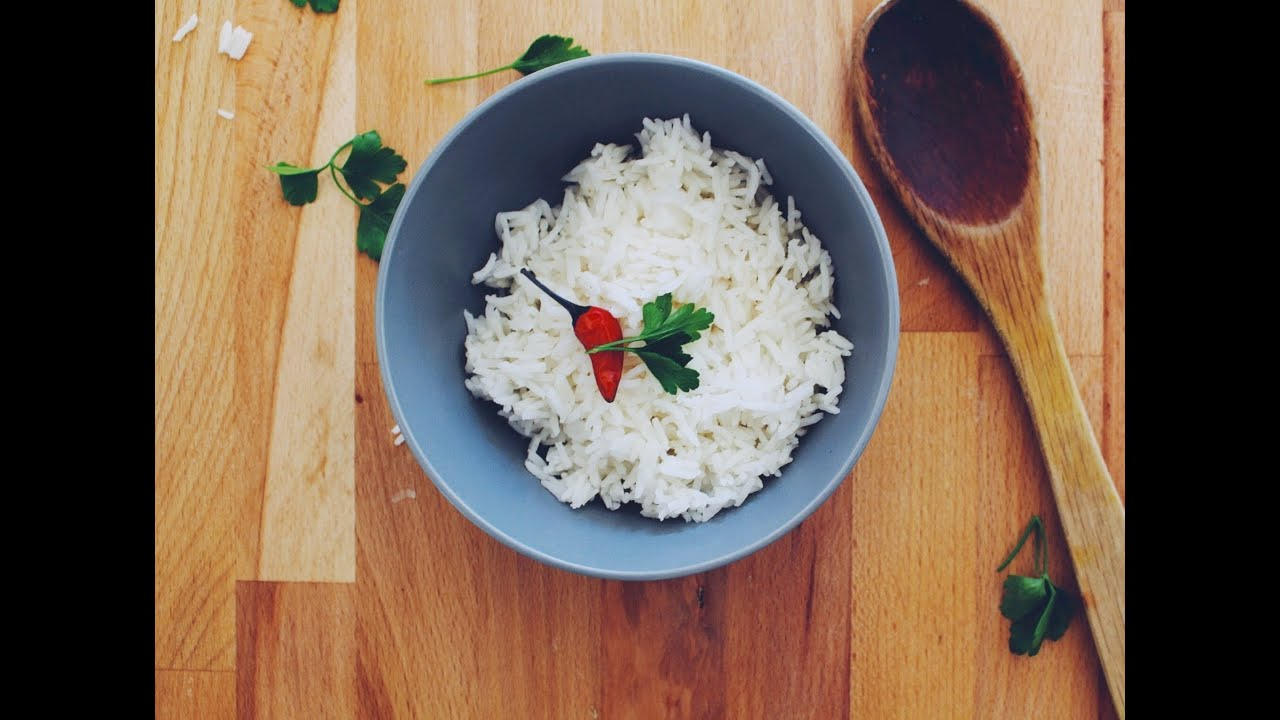 How To Cook Perfect Fluffy Rice  A Tasty Plate