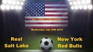 Real Salt Lake vs New York Red Bulls Predictions Major League Soccer 2014