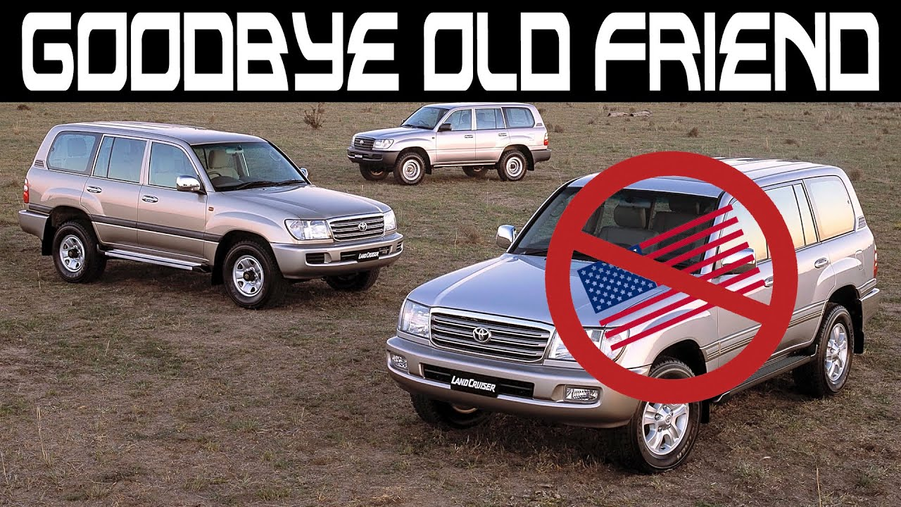 The Death of an American Icon  Toyota Landcruiser Leaving USA in 5.