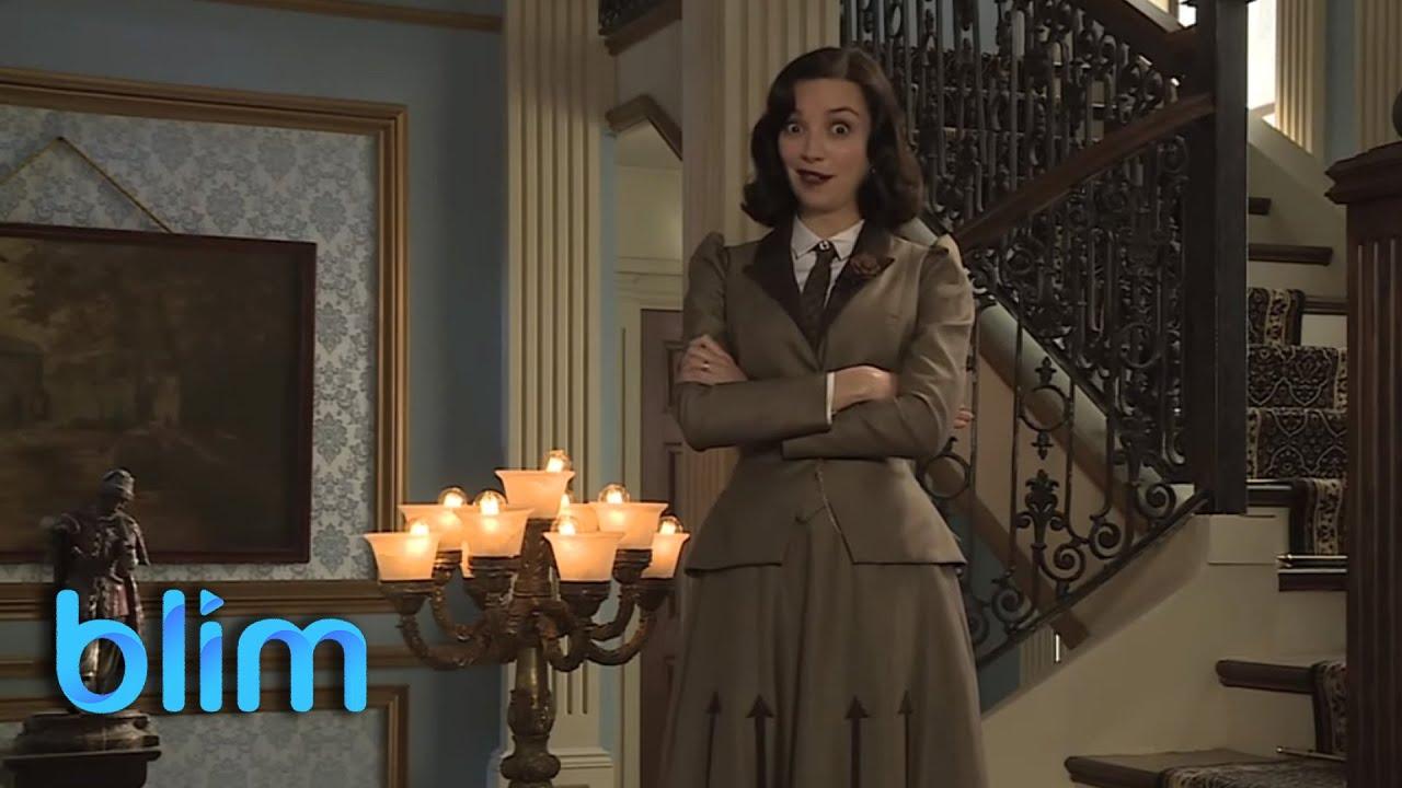 Regina bland n es matilde el hotel de los secretos for Bazzel el jardin de los secretos