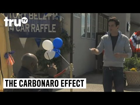 The Carbonaro Effect - Raffle Winner Goes AWOL