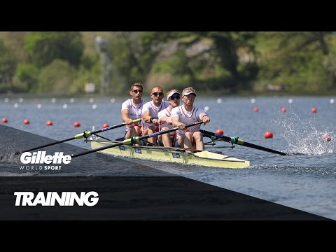 Preparing for Rio 2016 with Team GB's Coxless 4 | Gillette World Sport