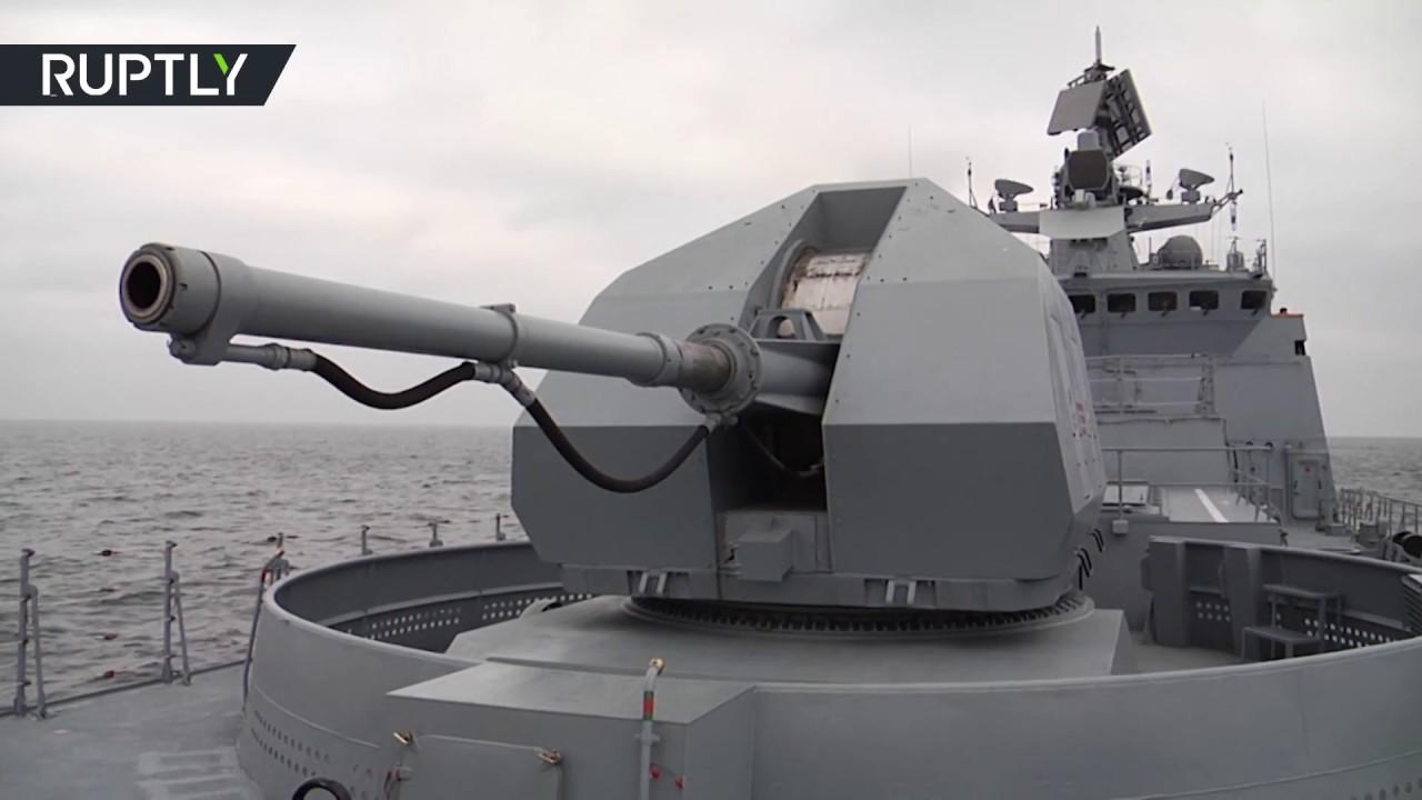 «Адмирал Макаров» выполнил ракетные стрельбы на Балтике