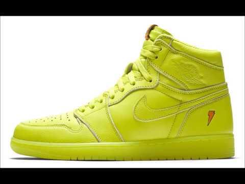 88c4623a3ef423 Gatorade Inspires the Brightest Air Jordan 1s Ever Original flavor for the  original Jordans