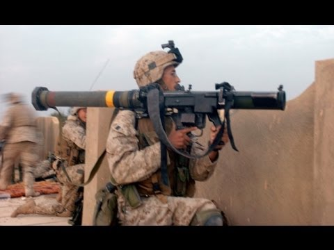 US Marines S.M.A.W Gunner Fires Rocket At Taliban Stronghold (REAL Combat Footage)